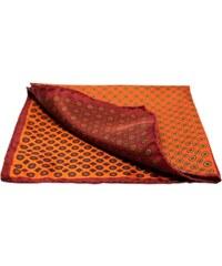 Pochette Square Le club des 4 - Pochette pour costume en soie - orange