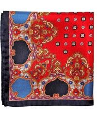 Pochette Square Old Chap - Pochette de costume en soie - rouge