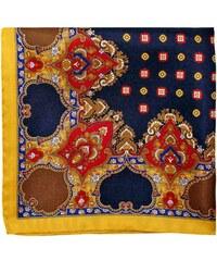 Pochette Square Old Chap - Pochette de costume en soie - bleu