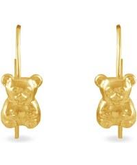 Histoire d'Or Boucles d'oreilles en or - or