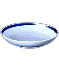 Site Corot Assiette calotte en porcelaine - blanc
