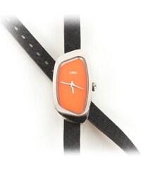 Xme 70's - Montre analogique en cuir - orange