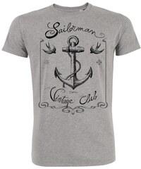 ArteCita Sailor vintage - T-shirt - gris chine