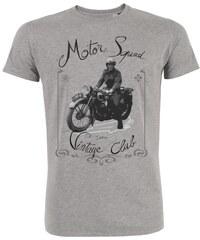 ArteCita Motorcycle vintage - T-shirt - gris chine