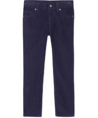 Petit Bateau Pantalon en velours - bleu
