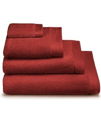 Calvin Klein Home Dolmite - Serviette de bain - rouge