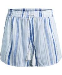 PIECES Gestreifte Shorts