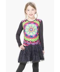 Desigual barevné dívčí šaty Maseru