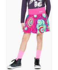 Desigual růžová dívčí sukně Fumanya