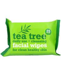 Xpel Tea Tree Cleansing Facial Wipes Čisticí voda W 25 ubrousků pro čistou pleť