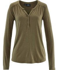 bpc bonprix collection T-shirt en jersey vert femme - bonprix