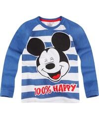 Disney Mickey Langarmshirt blau in Größe 98 für Jungen aus 100% Baumwolle Grau: 60% Baumwolle 40% Polyester