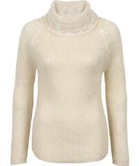 BODYFLIRT Rollkragenpullover 3/4 Arm in weiß für Damen von bonprix
