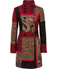 RAINBOW Mantel im Material-und Mustermix langarm in rot für Damen von bonprix