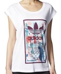 Tričko Adidas Rolled Sleeves white S