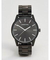 UNKNOWN - Montre-bracelet classique 39mm - Noir - Noir