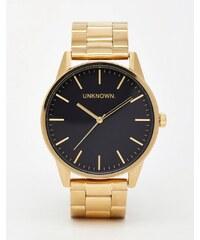UNKNOWN - Uhr mit goldenem Edelstahlband - Gold