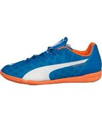 Puma Junior Evospeed 5.4 IT Indoor Electric Blue/White/Orange