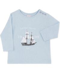 Tee Shirt Manches Longues - Bleu Ciel
