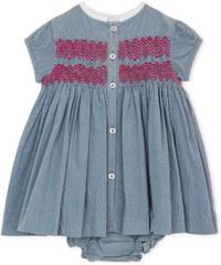 Robe Smock - Bleu