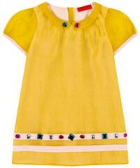Sonia Rykiel Enfant Seidenkleid mit Schmucksteinen