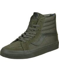 Vans Sk8 Hi Reissue Zip Sneaker ivy green