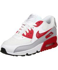 Nike Air Max 90 Mesh Gs Schuhe white/red/black