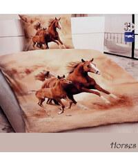 YooY 3D povlečení Běžící koně
