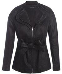 Veste imperméable zips col Noir Polyester - Femme Taille 42 - Bréal