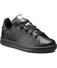 Schuhe adidas - Stan Smith C BA8376 Cblack/Cblack/Cblack