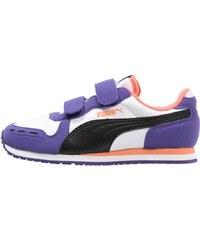 Puma CABANA RACER Sneaker low white/black/prism violet