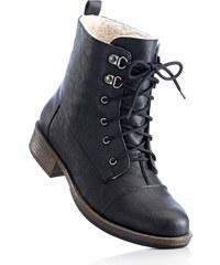 bpc bonprix collection Bottines à lacets noir avec 3 cm talon carréchaussures & accessoires - bonprix