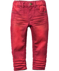 John Baner JEANSWEAR Pantalon skinny, T. 80-134 rouge enfant - bonprix