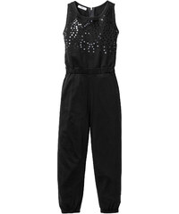 bpc bonprix collection Jumpsuit mit Paillettenapplikation, Gr. 116-170 in schwarz von bonprix