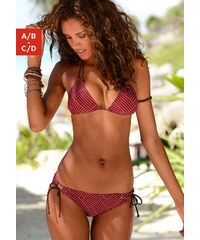 Große Größen: Triangel-Bikini, s.Oliver RED LABEL Beachwear, rot-braun, Gr.32-40