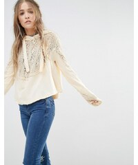 Free People - Sweet Tooth - Sweat à capuche - Crème