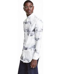 H&M Vzorovaná bavlněná košile