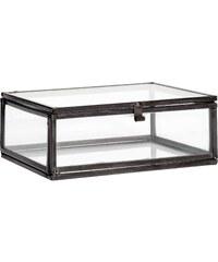 H&M Dóza z čirého skla