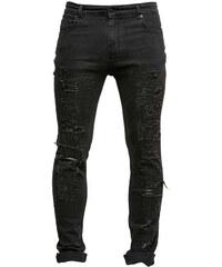 Just Junkies Sicko Jeans schwarz (DARK TRASH)