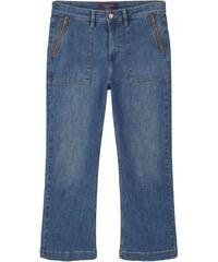 Violeta by Mango Jeans mit geradem Schnitt - klassischer blauton