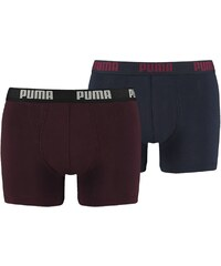 Puma Lot de 2 boxers - bordeaux
