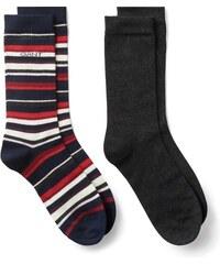 GANT Boîte Cadeau De 2 paires De Chaussettes Pour Les Fêtes - Charcoal