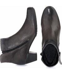 Große Größen: Gabor Comfort Stiefelette, grau, Gr.3 1/2-7