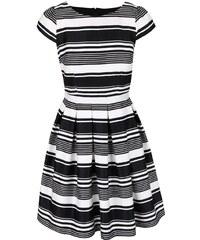 Bílo-černé pruhované šaty Dorothy Perkins