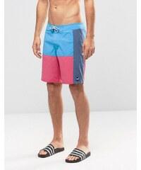 Hollister - Shorts de bain en color block - Bleu marine