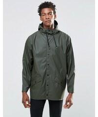 Rains - Veste courte imperméable - Vert