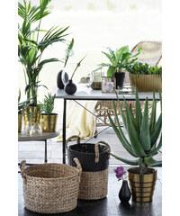 H&M Oválná skleněná váza
