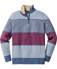 bpc bonprix collection Pulovr s límečkem na zip, Regular Fit bonprix