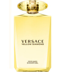 Versace Bath & Shower Gel Duschgel Yellow Diamond 200 ml