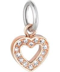 Přívěsek Morellato Drops Charms Heart CZ617